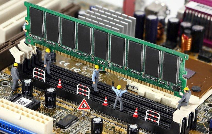 نصب رم کامپیوتر