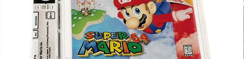 کارتریج بازنشدهی سوپر ماریو ۶۴ گرانترین بازی تاریخ شد