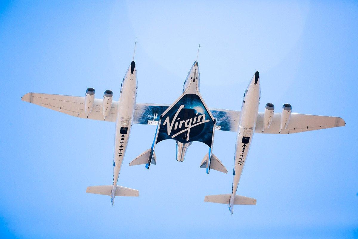 هواپیمای شوالیه سفید و فضاپیمای اسپیسشیپ دو