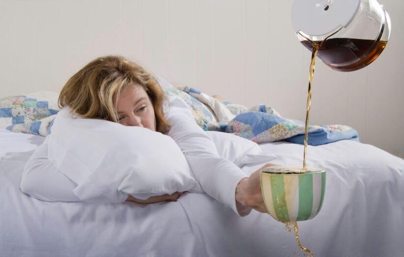 تاثیر مصرف کافئین بر خواب