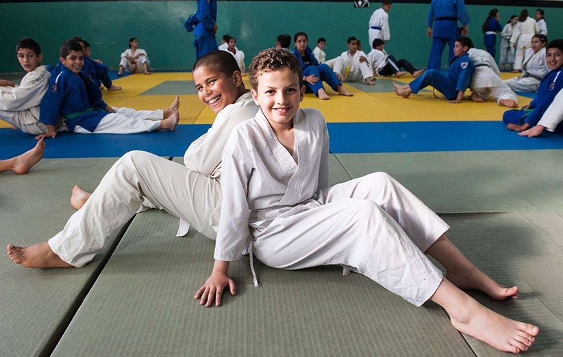 ورزش جودوی کودکان