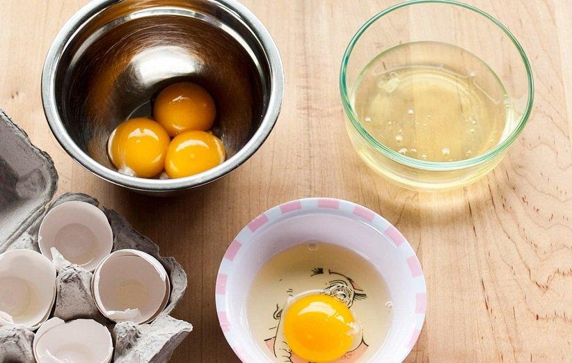 ماسک سفیدهی تخممرغ