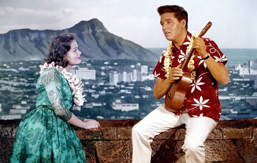 پیراهن هاوایی و الویس پریسلی