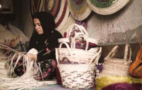 حصیربافی بوشهر کسب و کار بومی و محلی