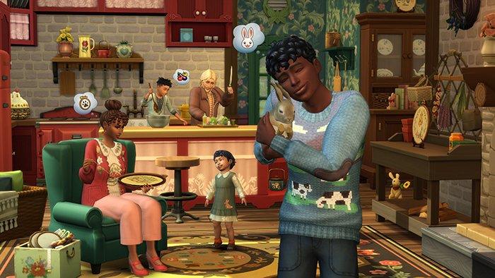 بازی The Sims 4 Cottage Living