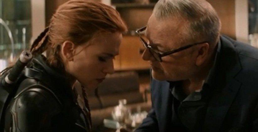 ناتاشا و دریکوف در فیلم بیوهی سیاه