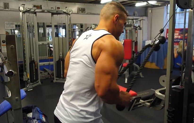 5 نکته برای انجام تمرینات ماهیچهی پشت بازو