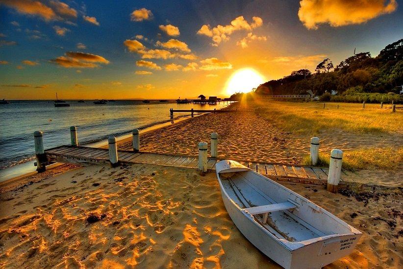 بهراستی ساحل و دریا میتوانند حسابی آرامشبخش باشند.