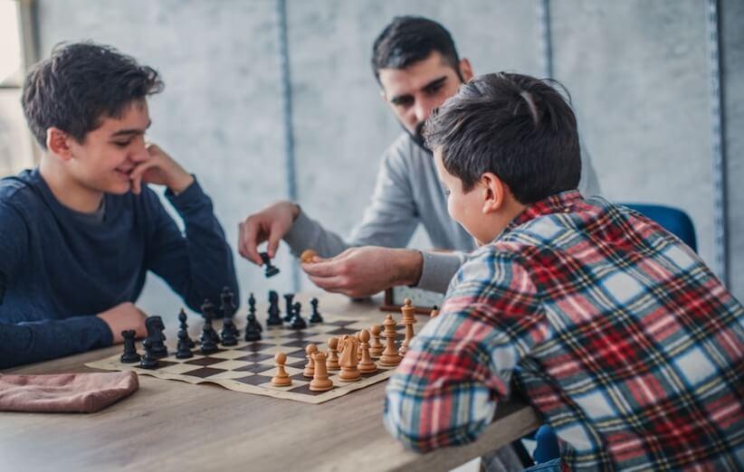شطرنج نیاز به مهارت دارد