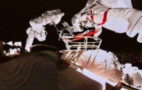 دومین راهپیمایی فضایی چین در ایستگاه فضایی تیانهه
