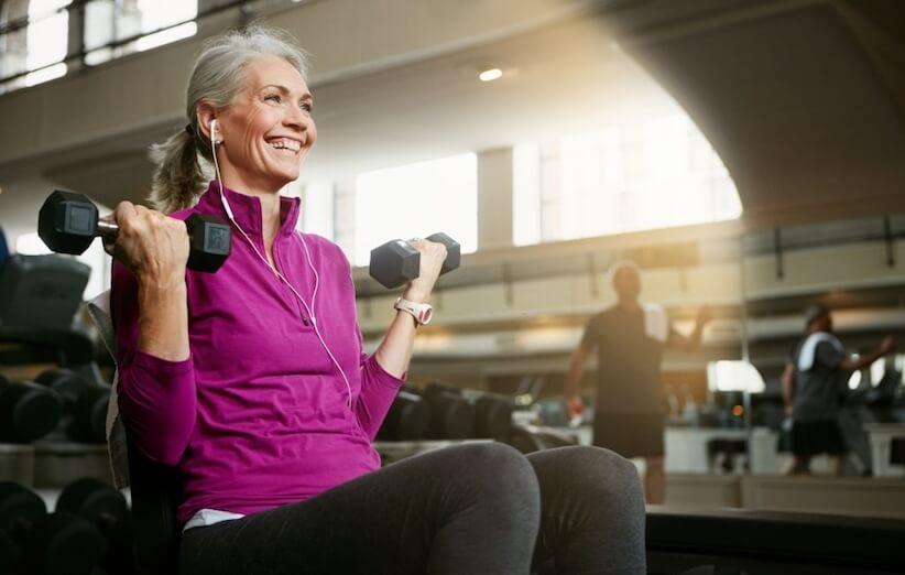 تمرینات عضلهسازی انجام دهید