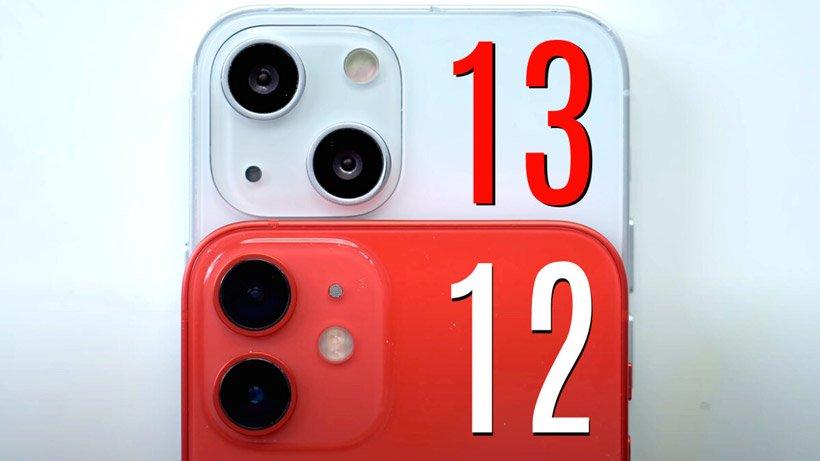 دوربین آیفون 12 در کنار آیفون 13