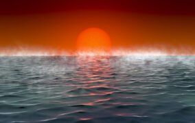 طرحی گرافیکی از سیارههای فراخورشیدی دارای اقیانوس