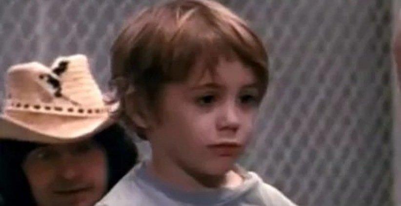 رابرت داونی جونیور در کودکی