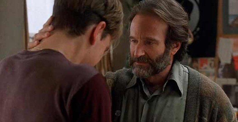 رابین ویلیامز در فیلم ویل هانتینگ نابغه