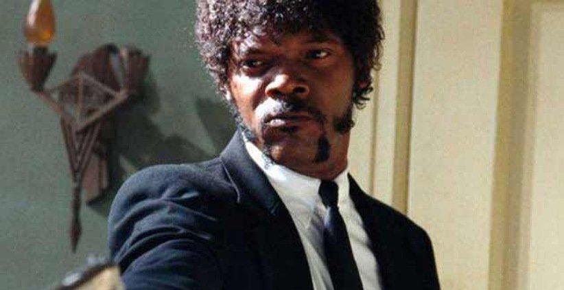 ساموئل ال جکسون در فیلم پالپ فیکشن