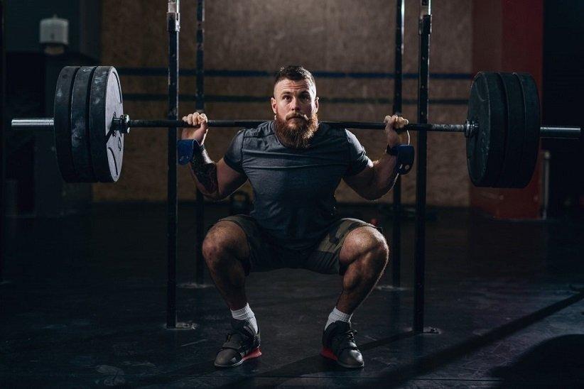 «اسکات از پشت» (Back squat)