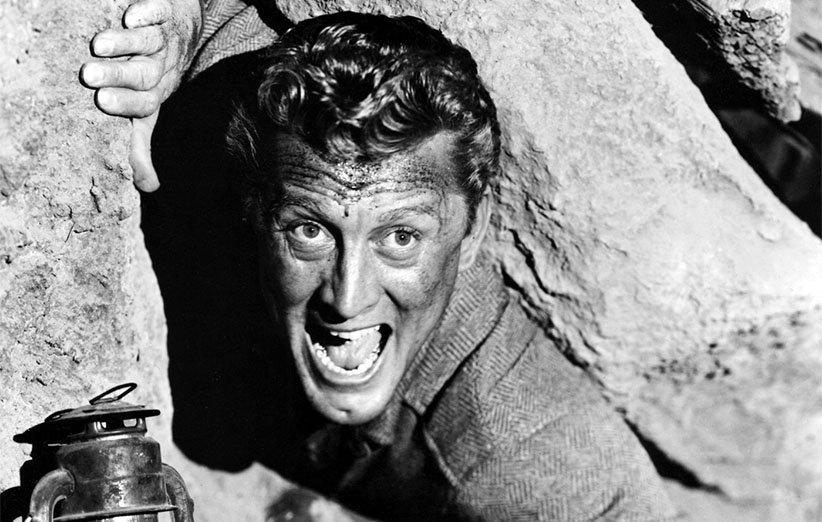 کرک داگلاس. تکخال در حفره.۱۹۵۱.شخصیت بدبین