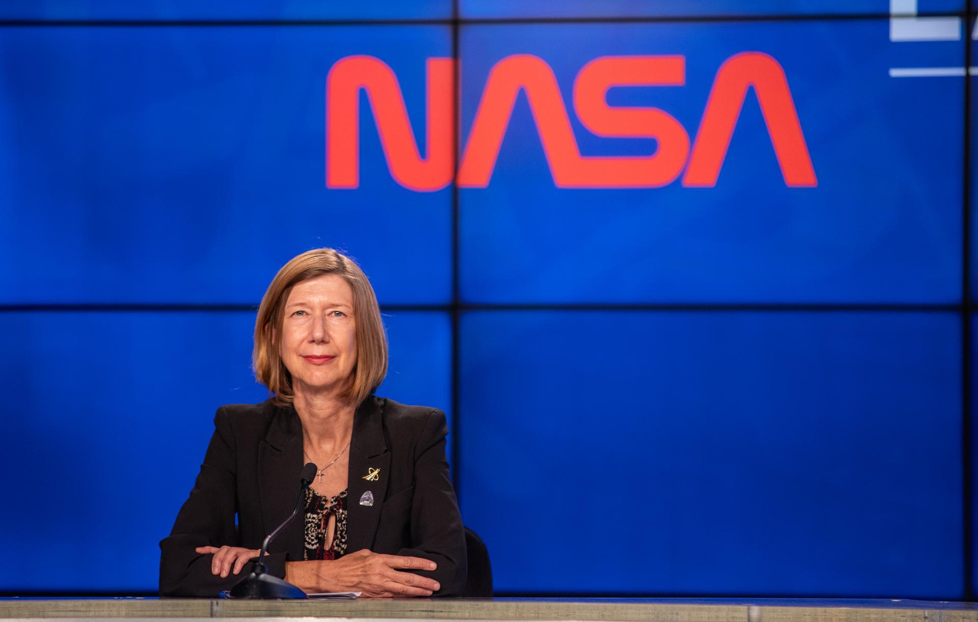 کتی لودرز از مدیران ارشد ناسا