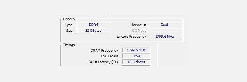 سرعت رم کامپیوتر
