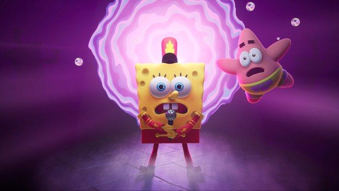 بازی SpongeBob SquarePants: The Cosmic Shake