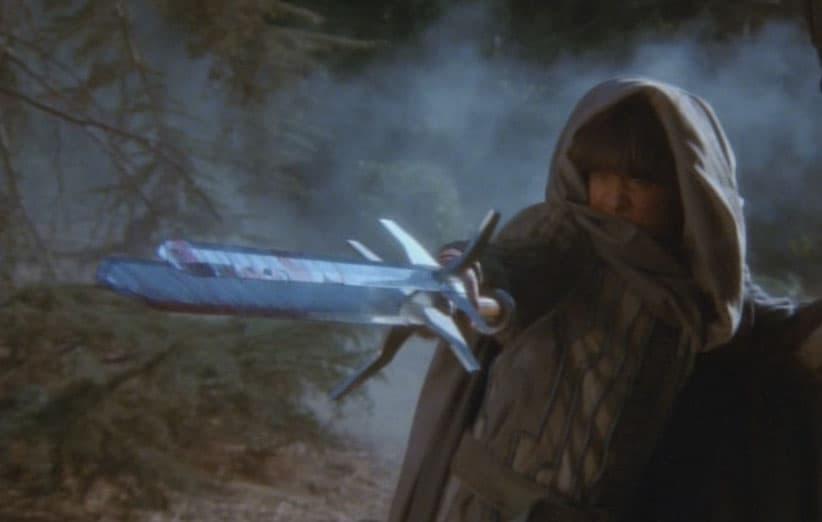 شمشیر سه لبه در فیلم شمشیر و جادوگر