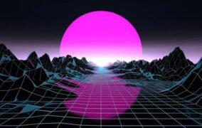 طرحی گرافیکی از یک جهان شبیهسازی شده