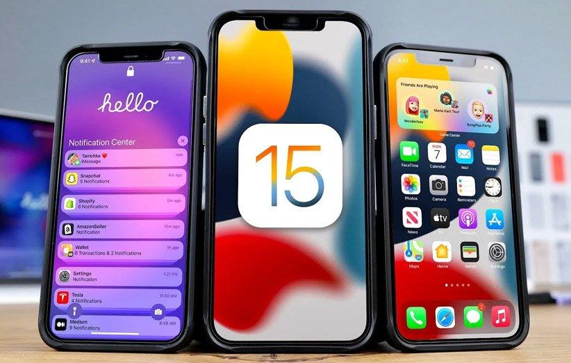 ۱۹ کار جدید که در iOS 15 میتوانید انجام دهید