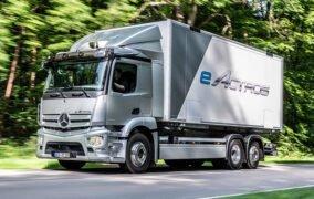 کامیون الکتریکی ایآکتروس مرسدس-بنز