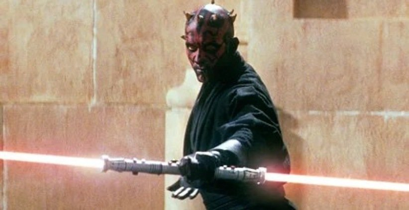 نمایی از فیلم جنگ ستارگان تهدید شبح