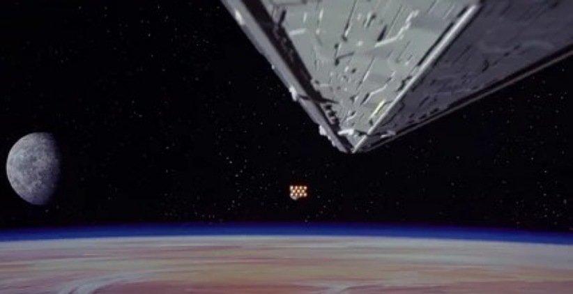 نمایی از فیلم جنگ ستارگان امیدی تازه