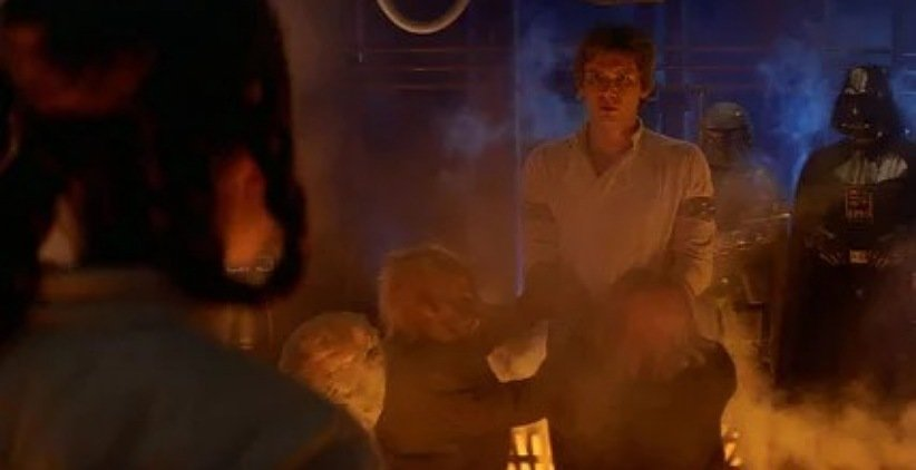 نمایی از فیلم جنگ ستارگان