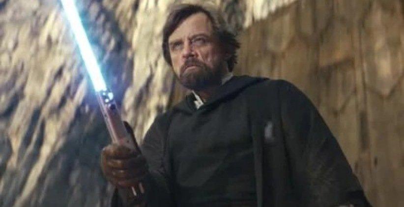نمایی از فیلم جنگ ستارگان آخرین جدای
