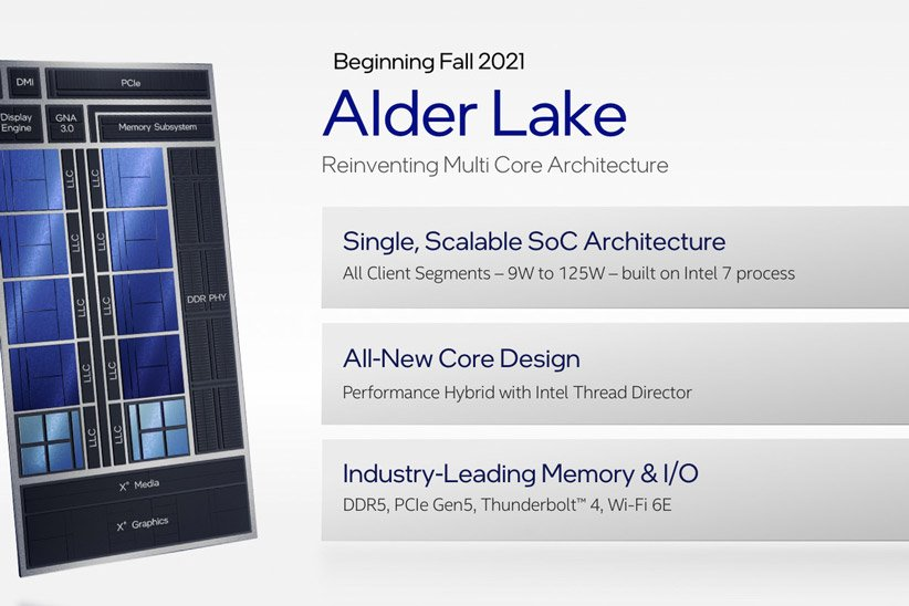 پردازنده Alder Lake اینتل