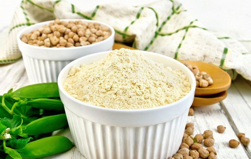 شیک گیاهی با پودر پروتئین نخود